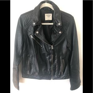 Abercrombie & Fitch Faux leather Moto Jacket